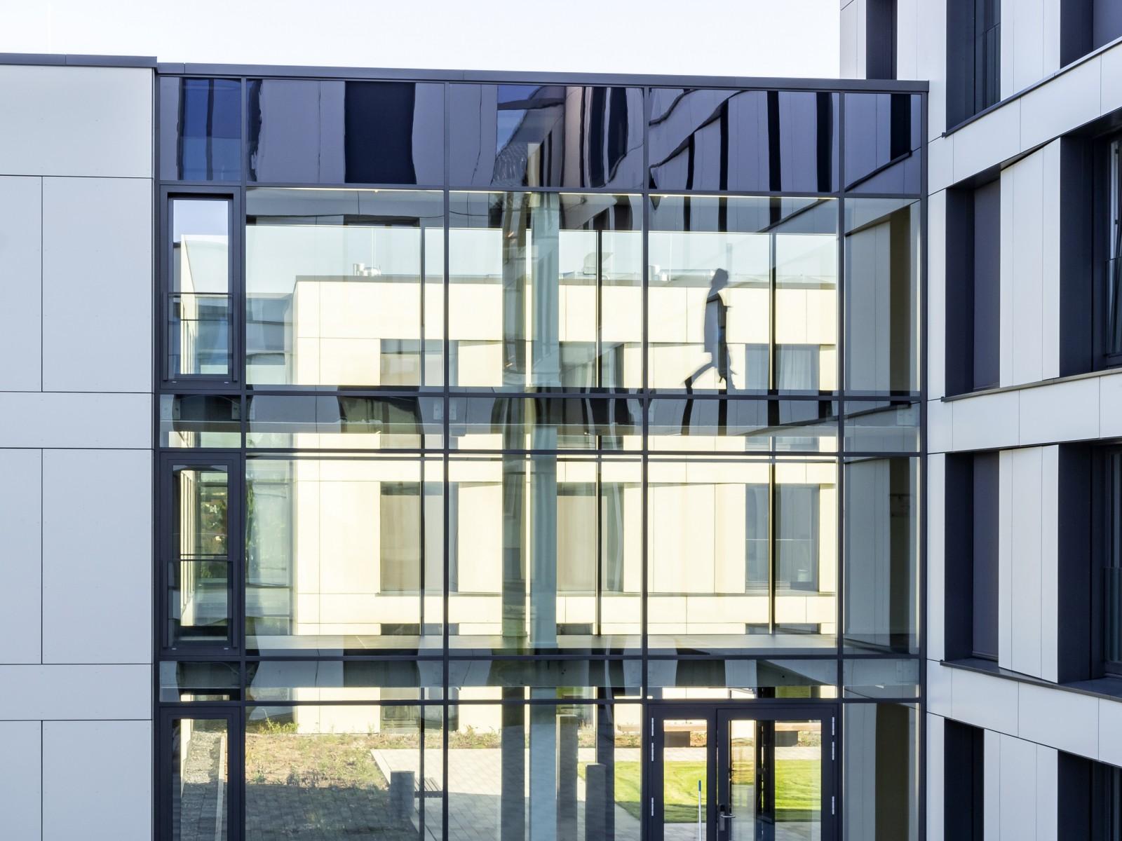 Finanzcampus Ansbach, Neubau Gästeapartmenthäuser