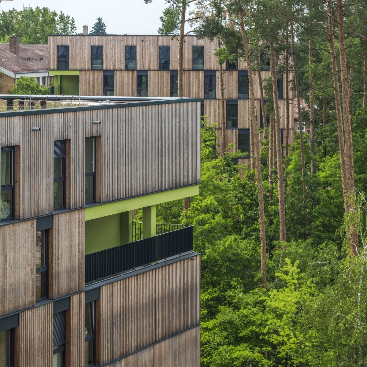 Wohnanlage für Studierende, Campus Süd, Erlangen