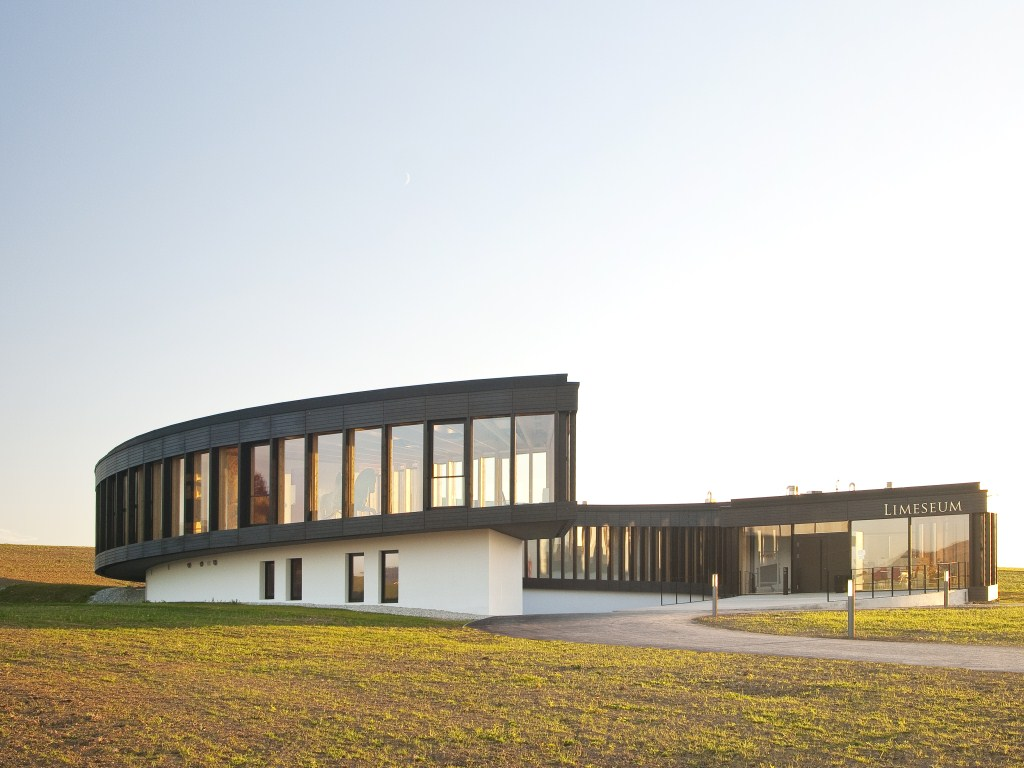 Neubau Limeseum, Museum im Römerpark, Ruffenhofen