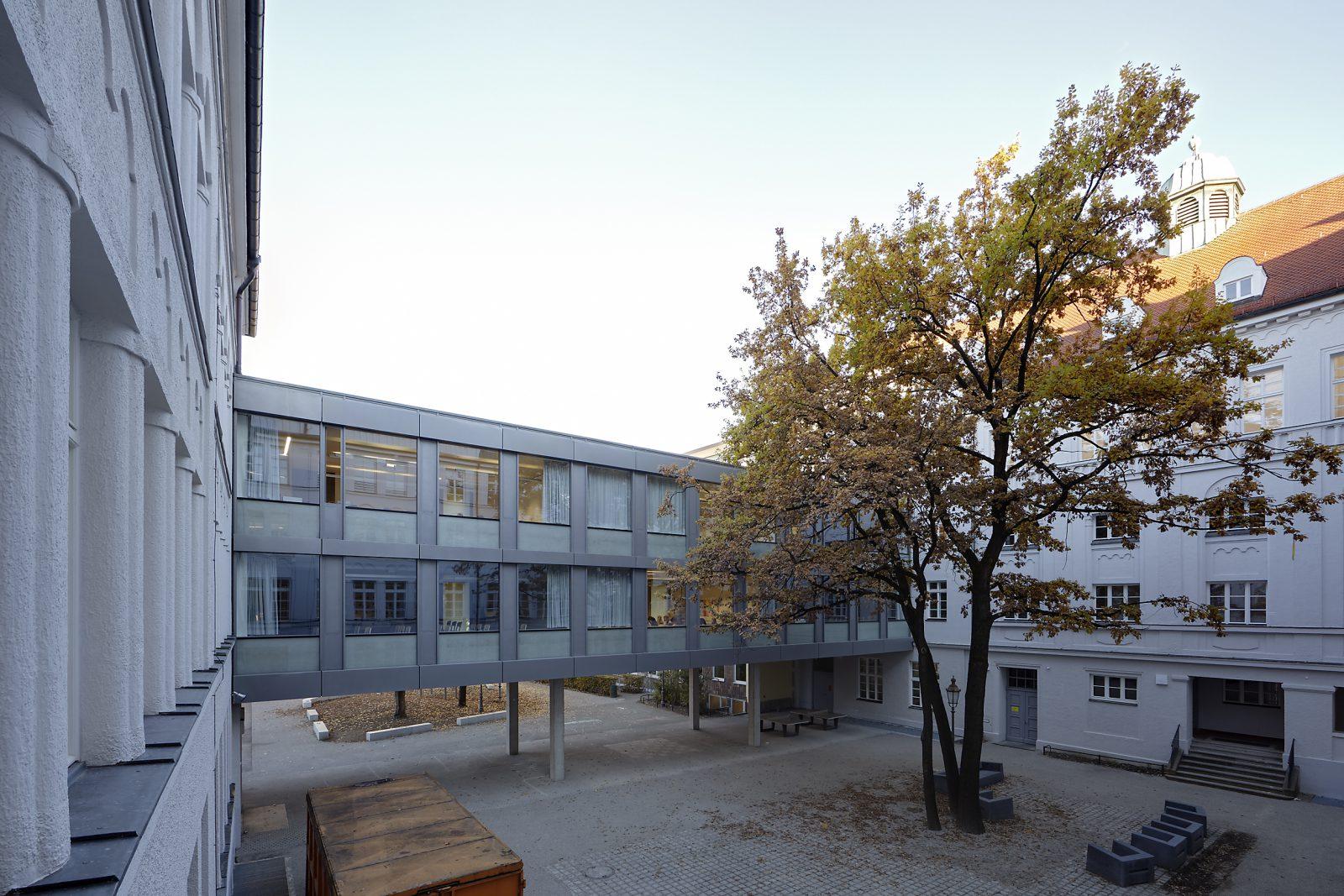 Generalsanierung, Umbau und Erweiterung St. Anna-Gymnasium, München