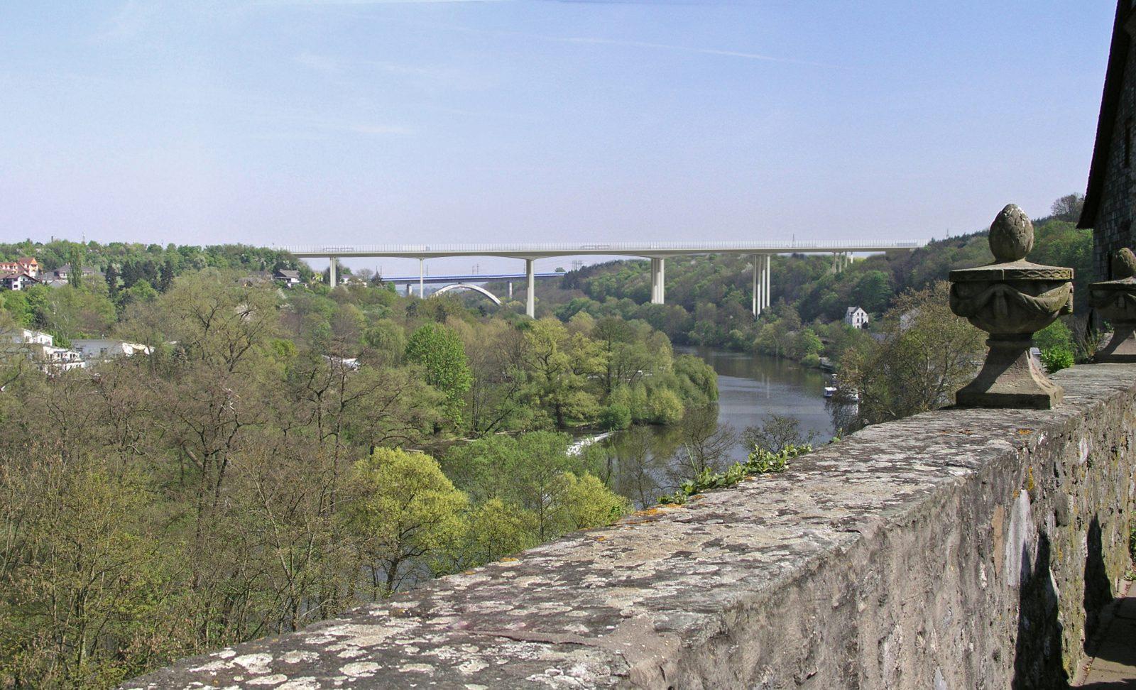 Perspektive Lahntalbrücke