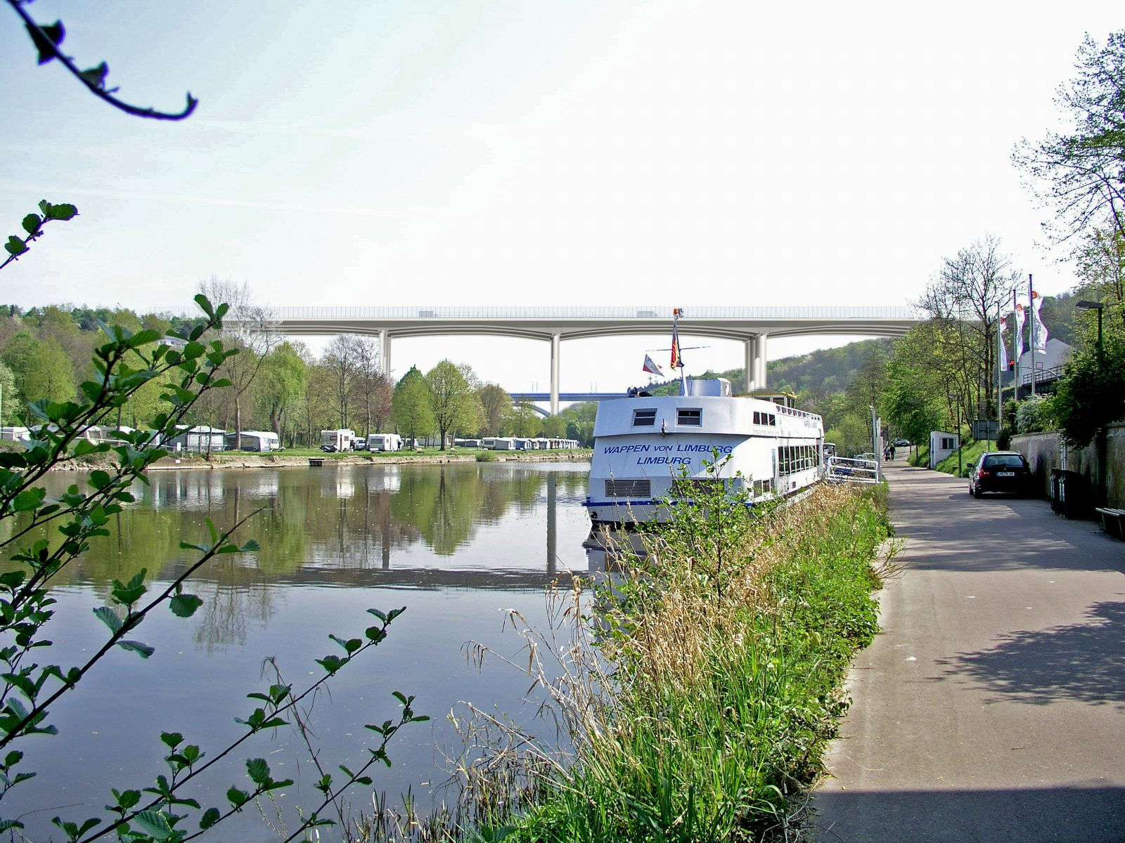 Perspektive Lahntalbrücke A3 Limburg