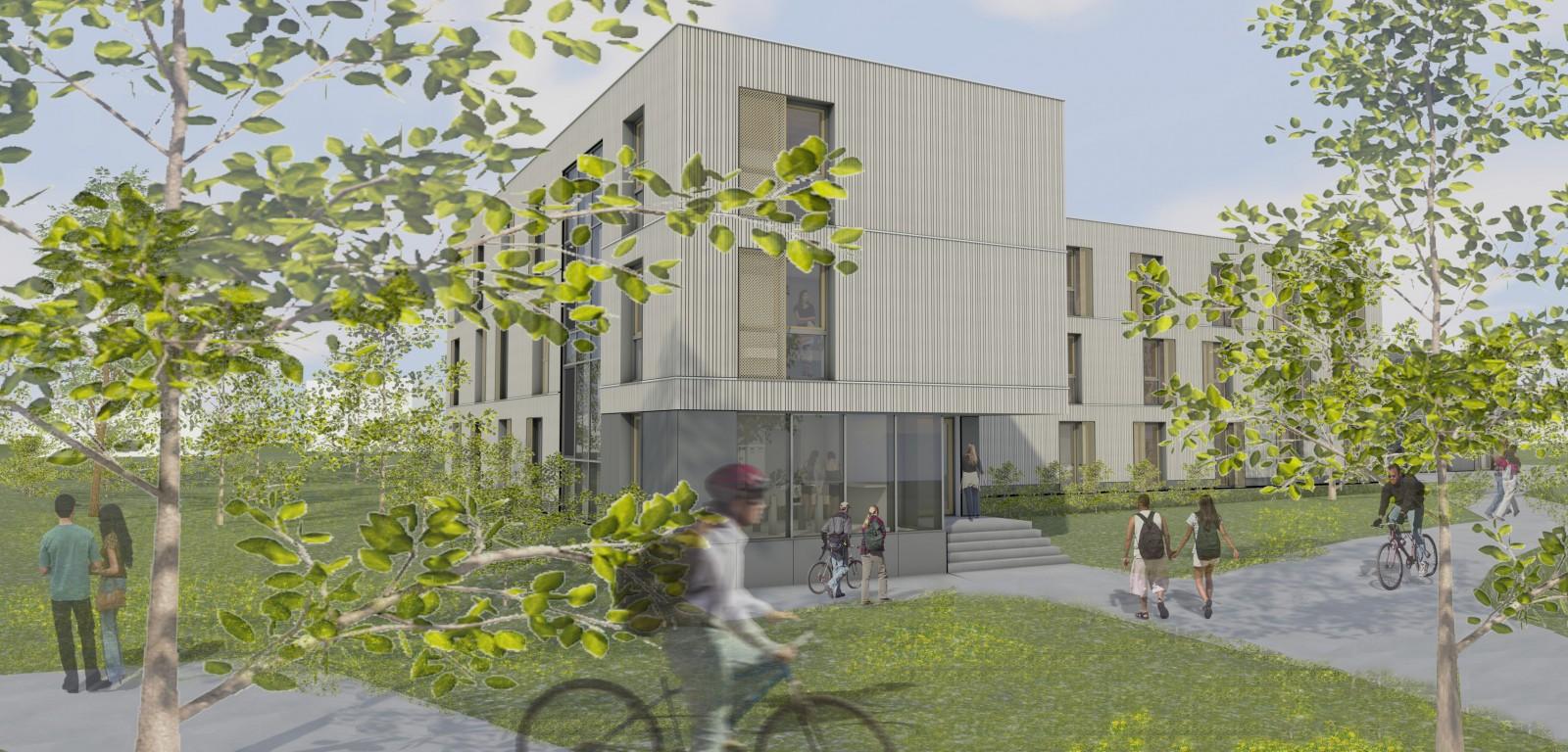 Neubau Studierendenwohnheim, Deggendorf