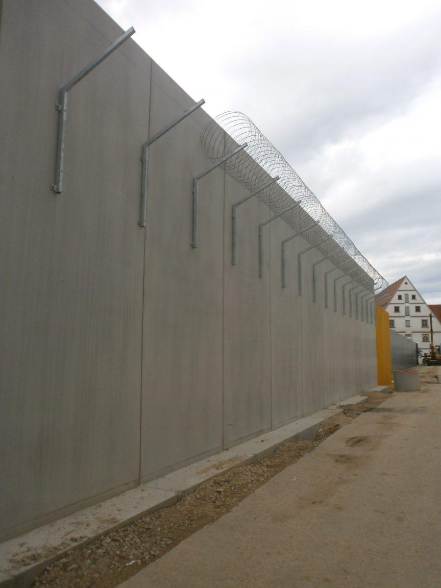 Justizvollzugsanstalt Kaisheim, Neubau Versorgungszentrum