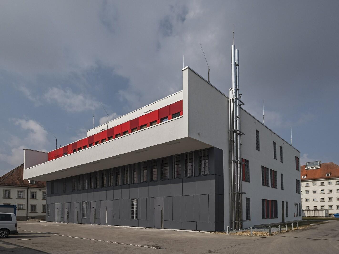 Justizvollzugsanstalt Aichach, Neubau Versorgungszentrum