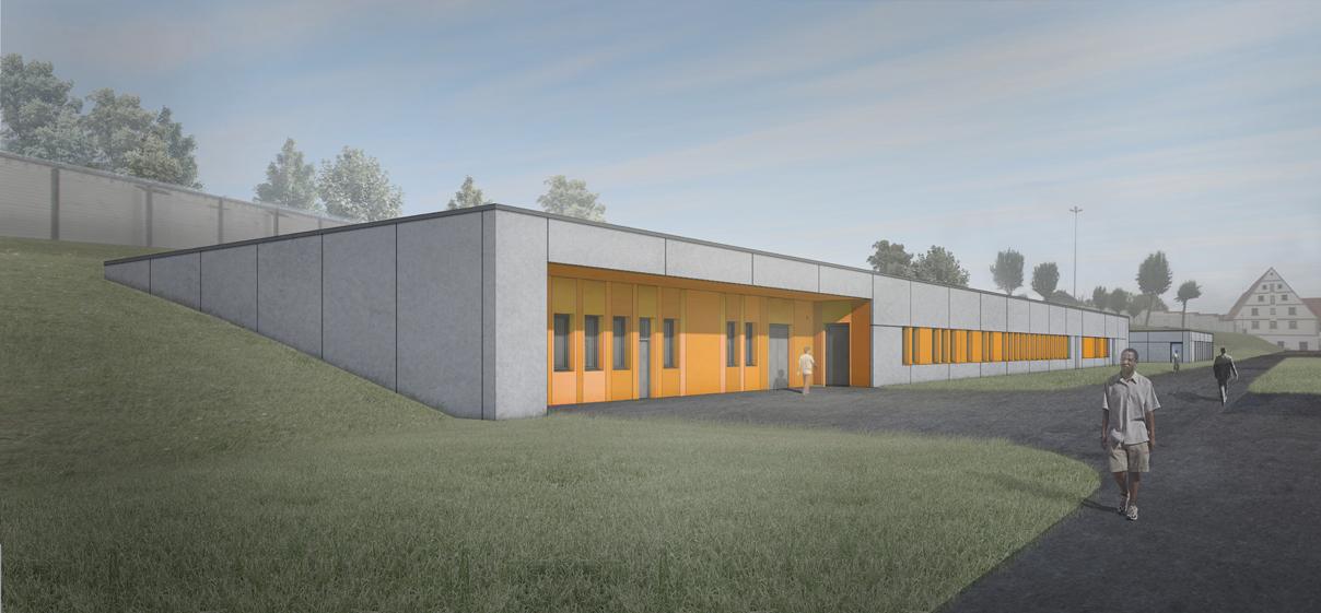 JVA Kaisheim, Neubau Versorgungszentrum