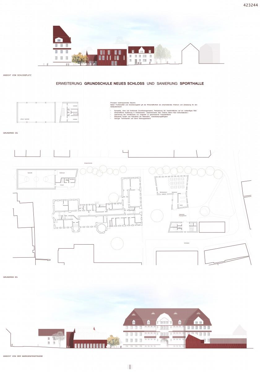 Wettbewerb Grundschule Neues Schloss Neustadt an der Aisch