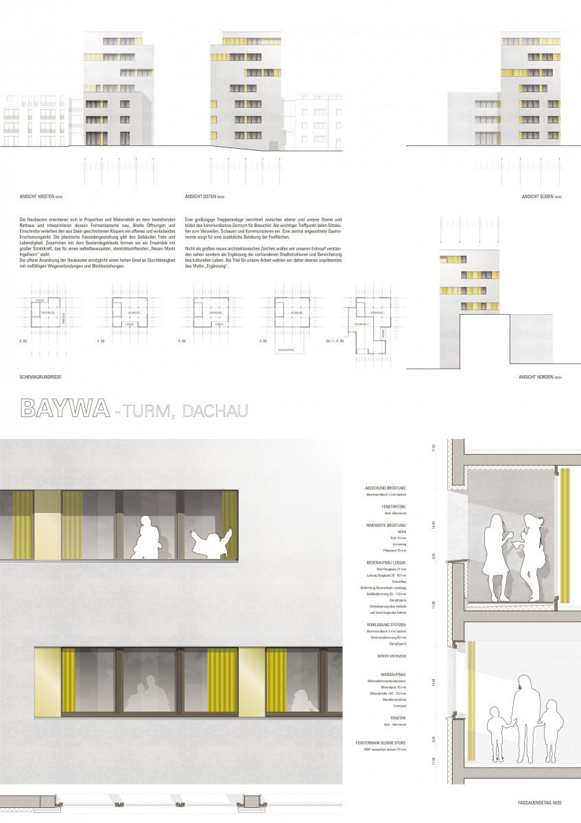 Plangutachten BayWa Turm Dachau