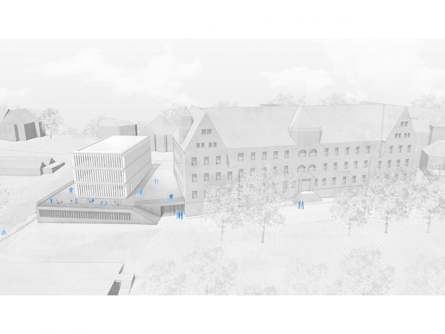Generalsanierung, Umbau und Erweiterung der Alten Augenklinik, Tübingen zur Neubelegung durch das Asien-Orient-Institut der Universität Tübingen