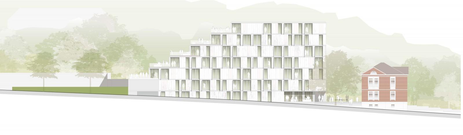 Coburg, Studentenwohnheim Campus Design