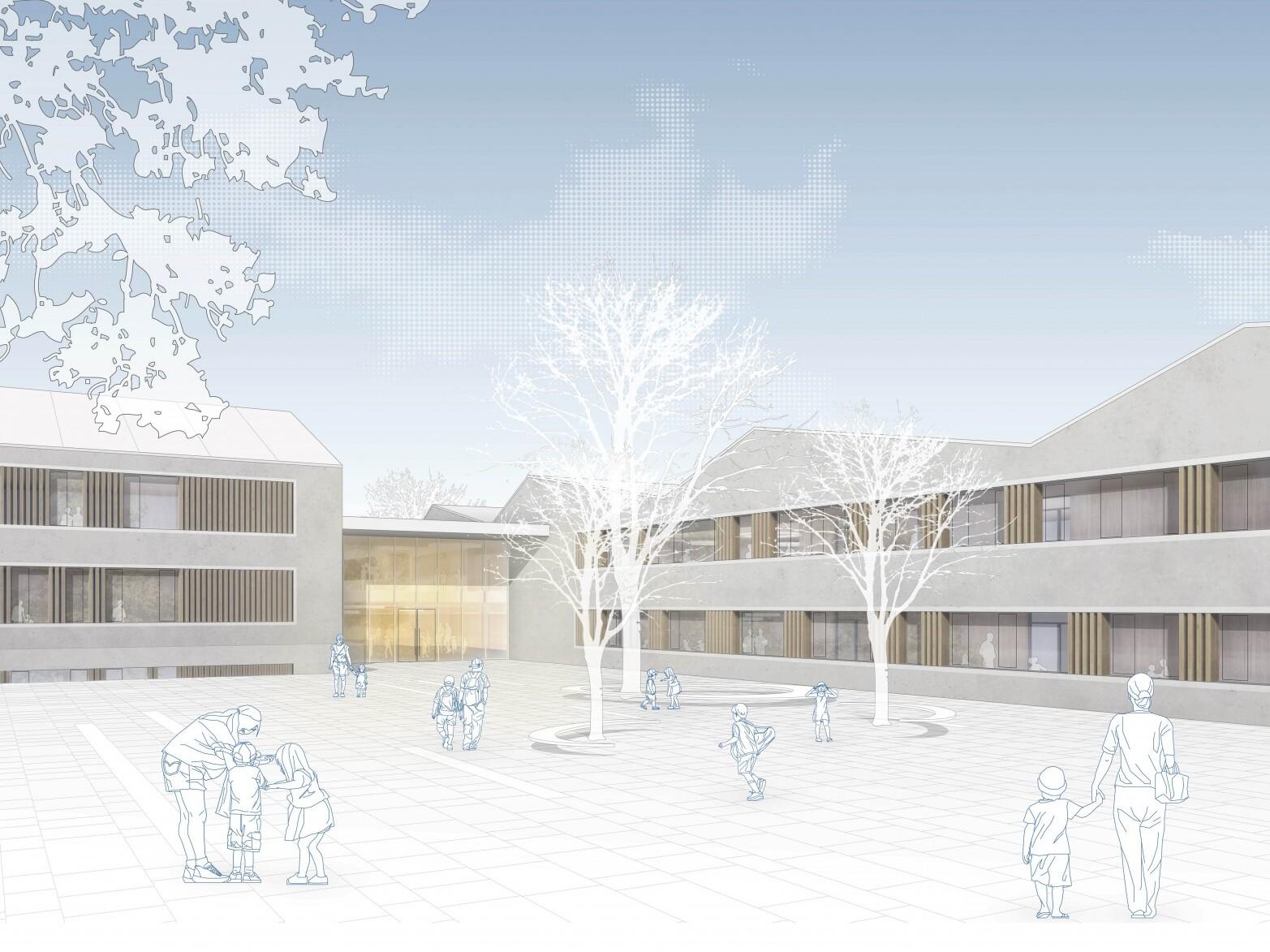 WB Leinfelden-Echterdingen, Zeppelinschule