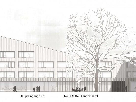Wettbewerb Ersatzneubau Landratsamt Miesbach