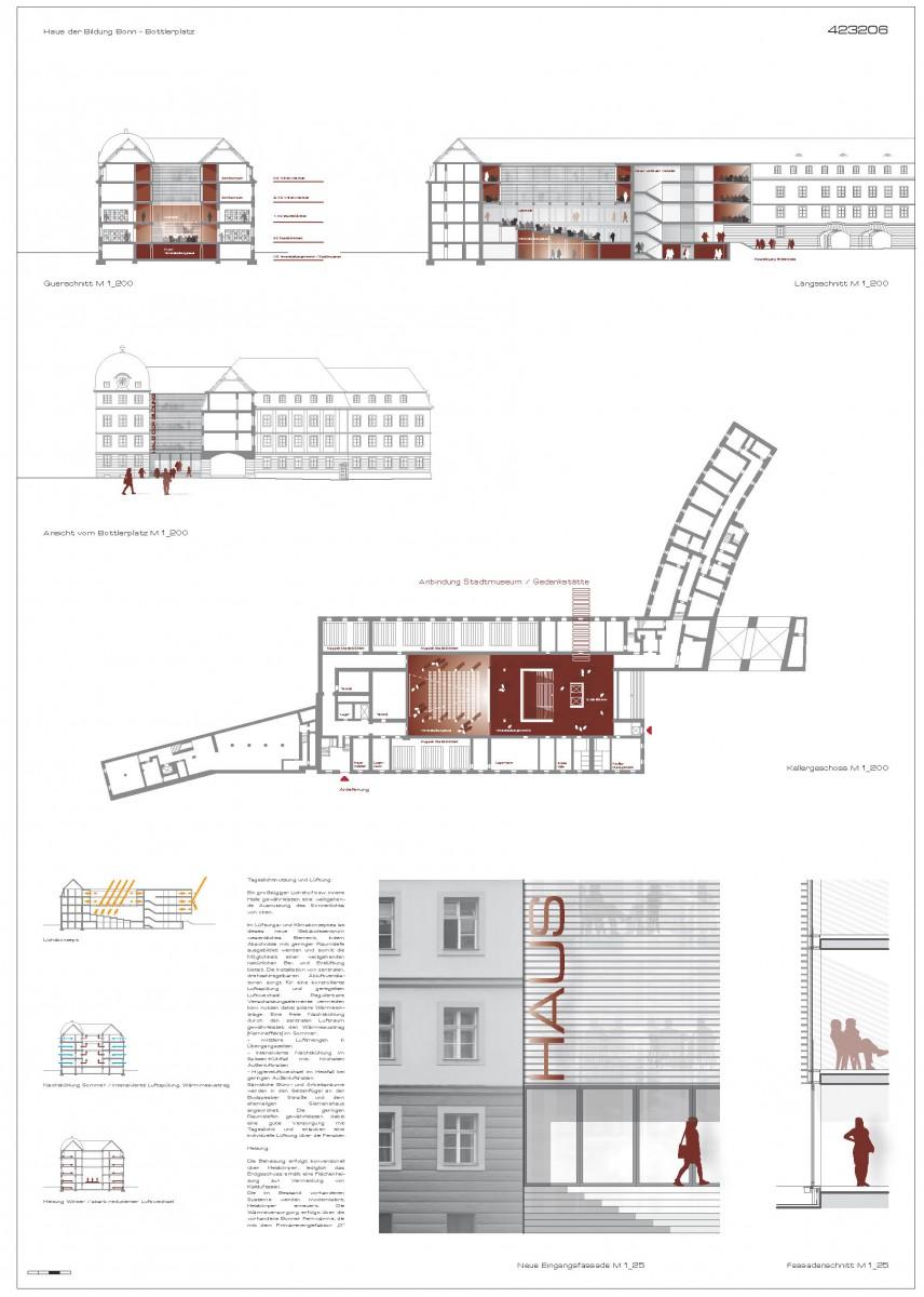 Wettbewerb Haus der Bildung Bonn