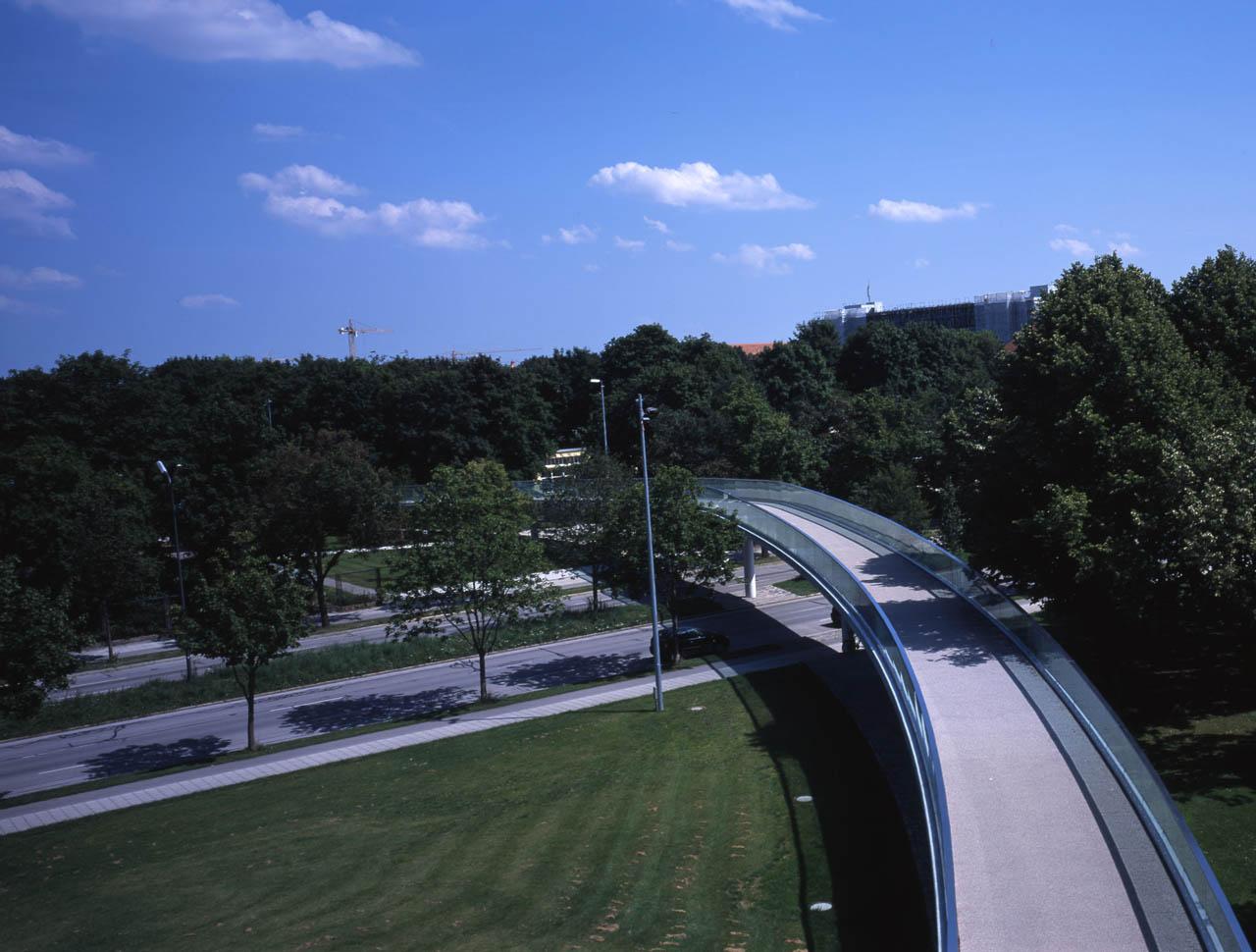 Fuß- und Radwegebrücke Ackermannstraße, München
