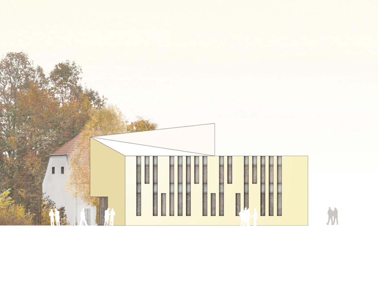 Wettbewerb Bürgerhaus Happing