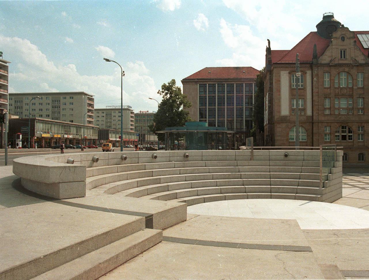 Neugestaltung Theaterplatz, Chemnitz
