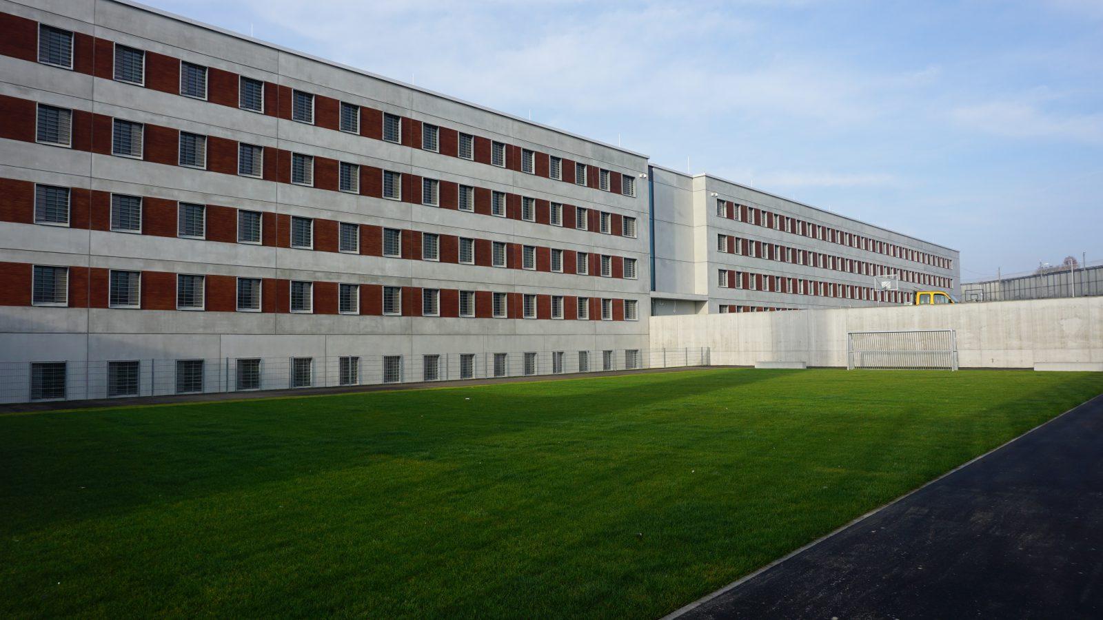 Haftplatzerweiterung, Justizvollzugsanstalt Stuttgart