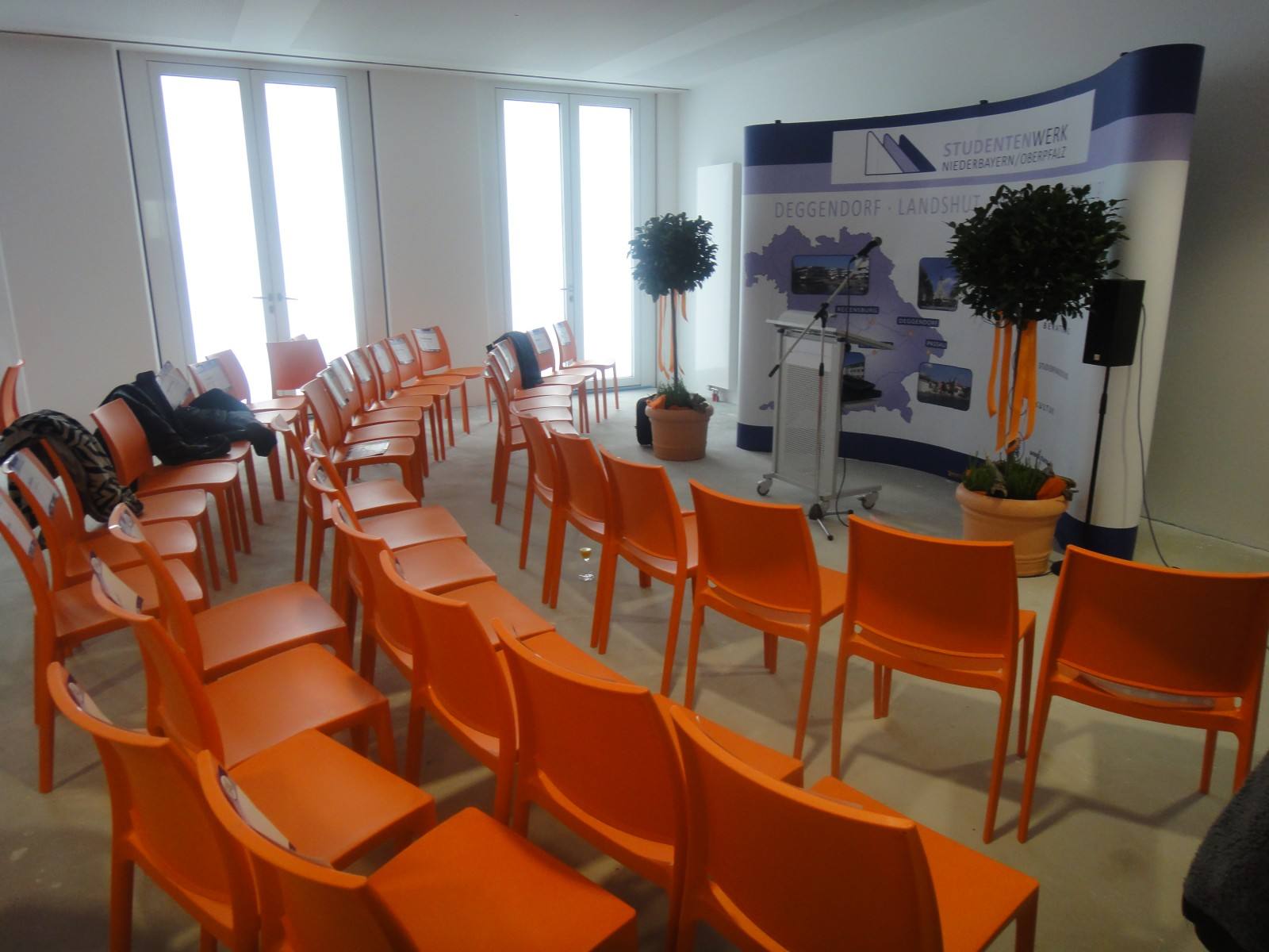 Einweihung Wohnanlage für Studierende, Landshut