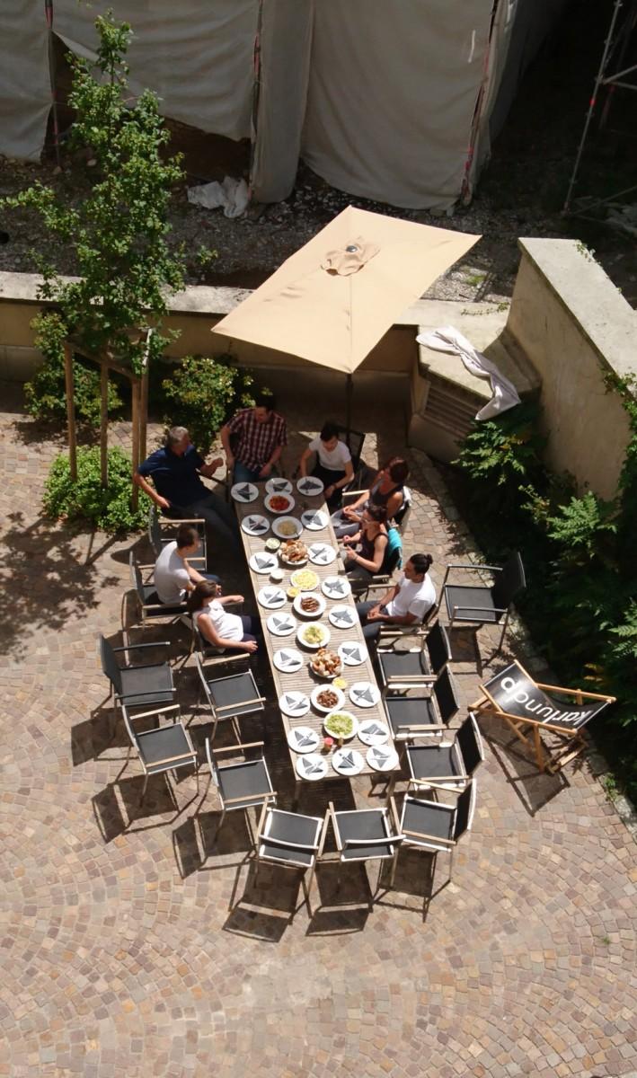 Mittagstisch bei karlundp