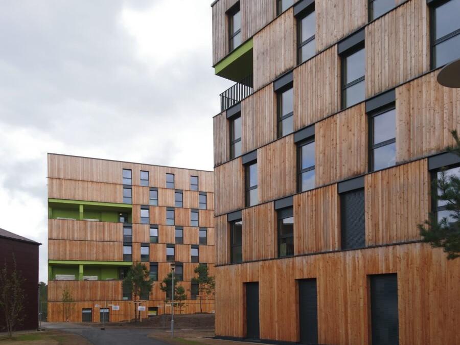 Wohnanlage für Studierende, Erlangen