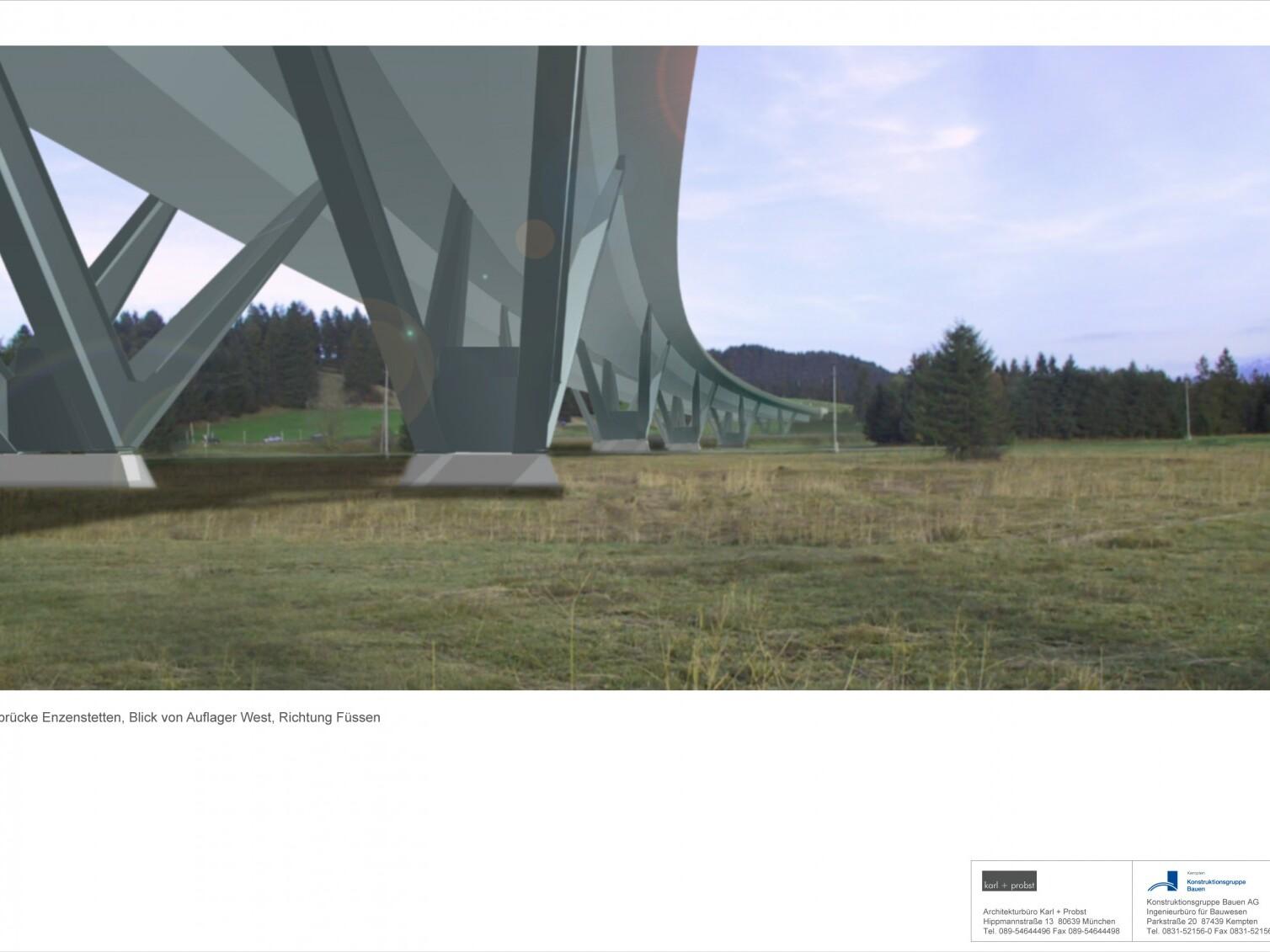 Plangutachten, Talbrücke Enzenstetten