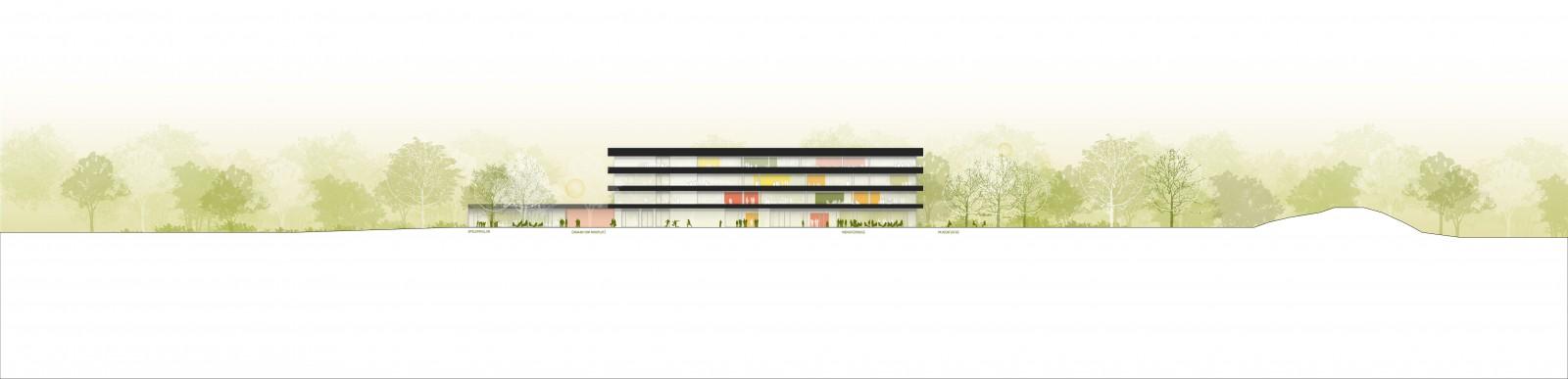 WB Essen Gymnasium 200_Ansichten Schnitte-02
