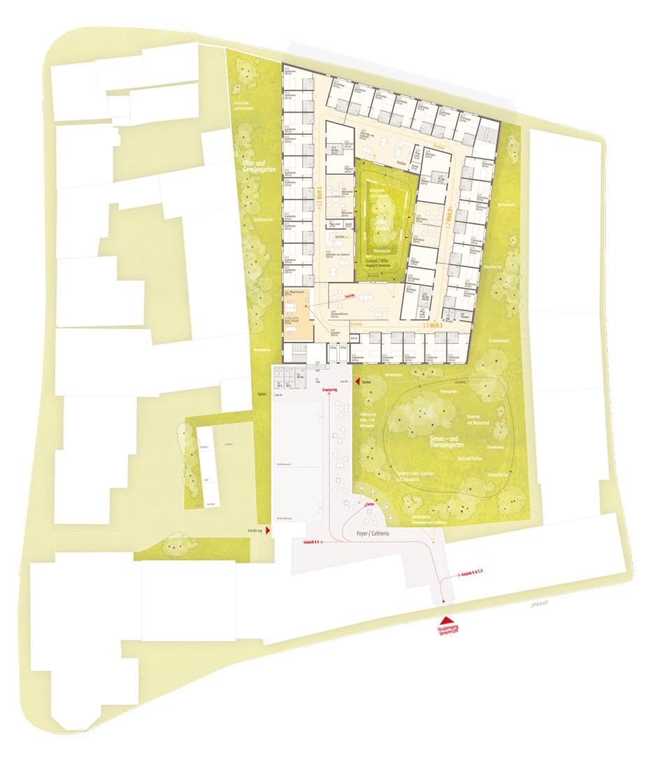 Bad Windsheim, Erweiterung Seniorenstift