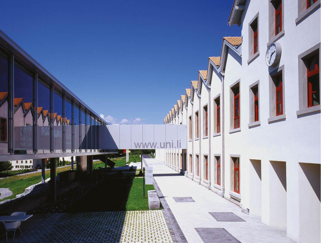 Universität Liechtenstein, Vaduz, Fürstentum Liechtenstein