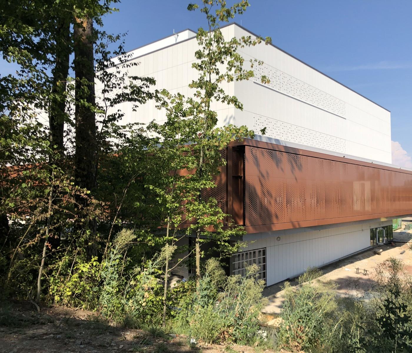 Neubau Mensa- und Lehrsaalgebäude