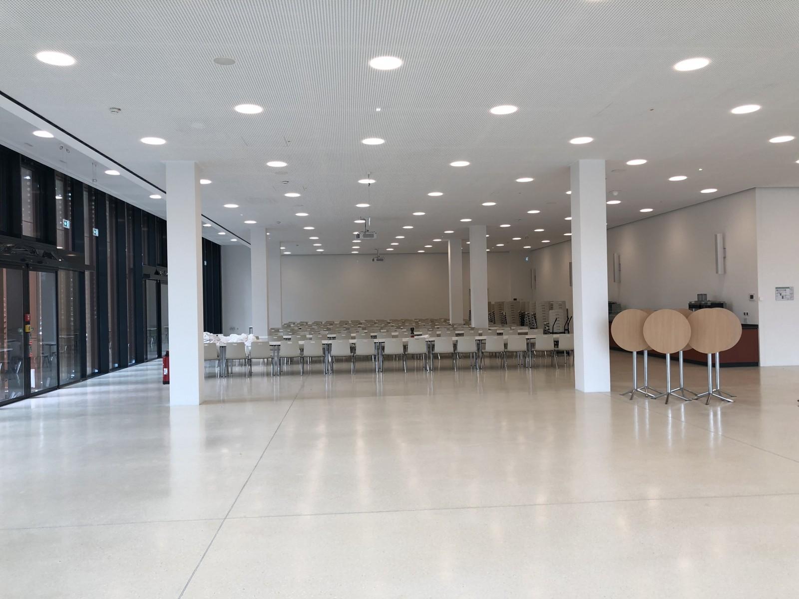 Erweiterung Finanzcampus Ansbach, Lehrsaal- und Mensagebäude