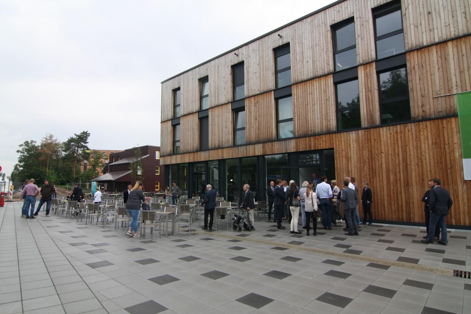 Einweihung Wohnanlage für Studierende, Campus Süd, Erlangen