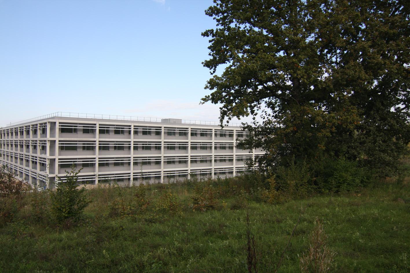 Pöcking, Neubau Lehrsaal- und Funktionsgebäude