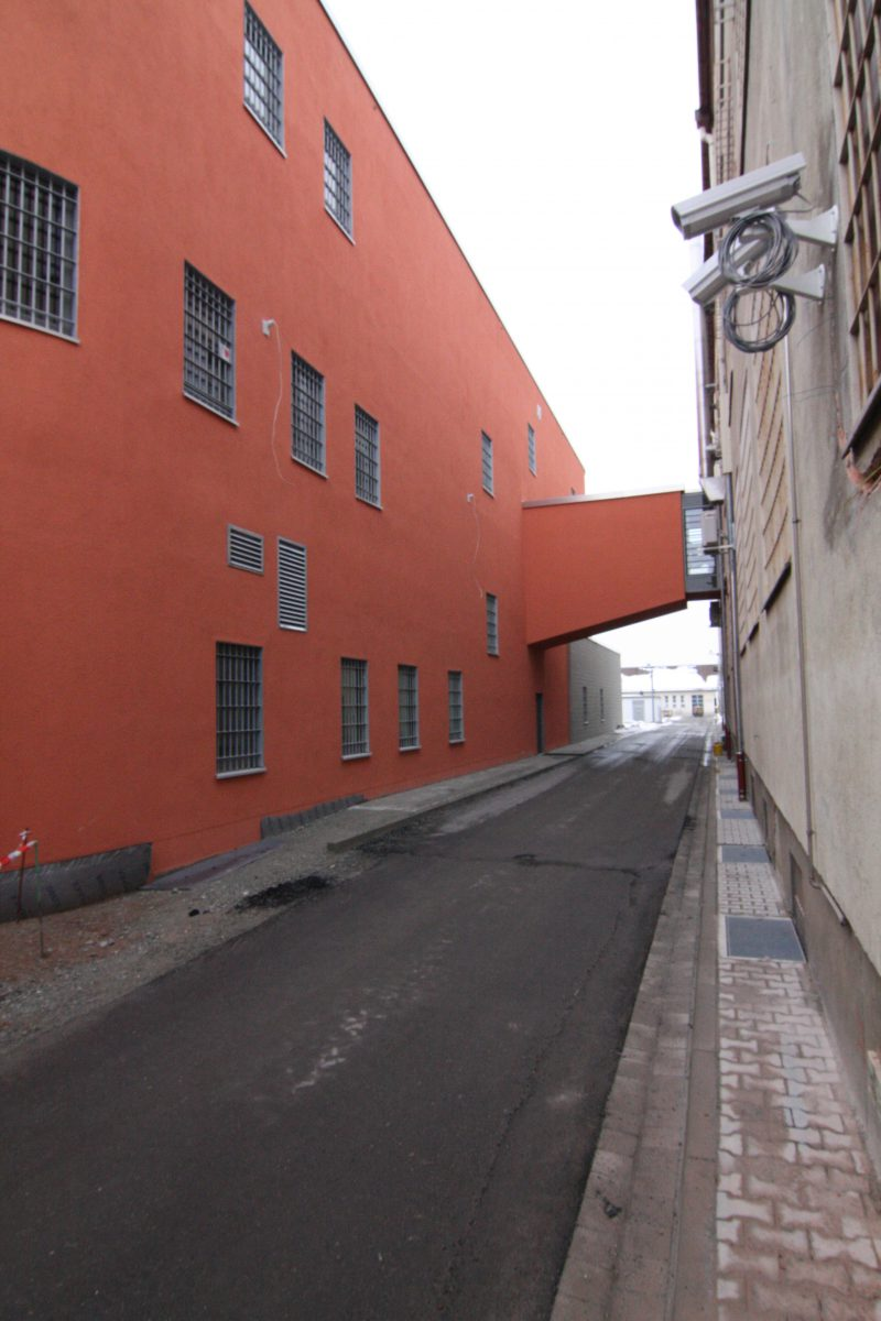 Justizvollzugsanstalt Straubing, Neubau Versorgungszentrum