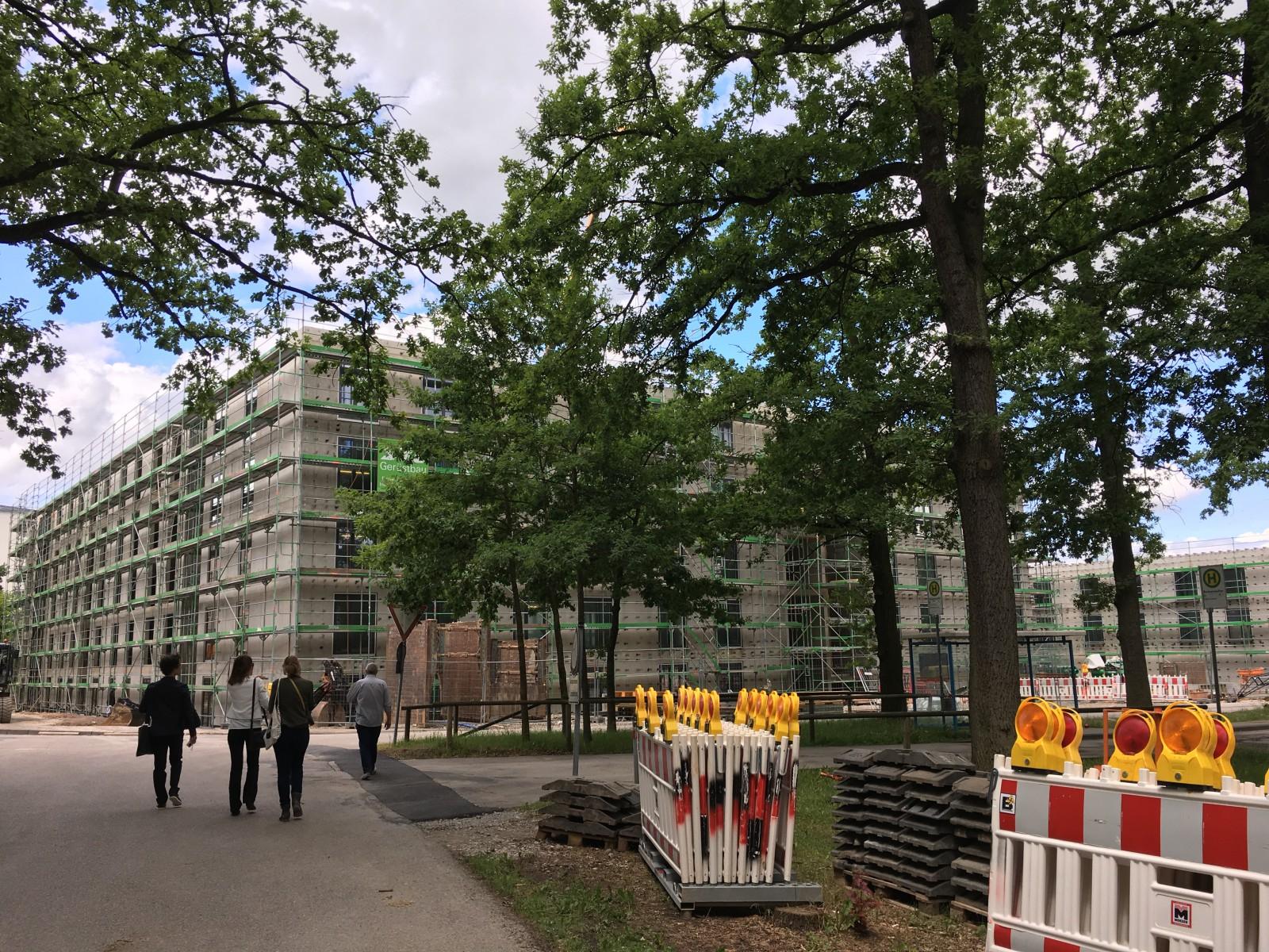 Richtfest Neubau Gästehäuser, Ansbach