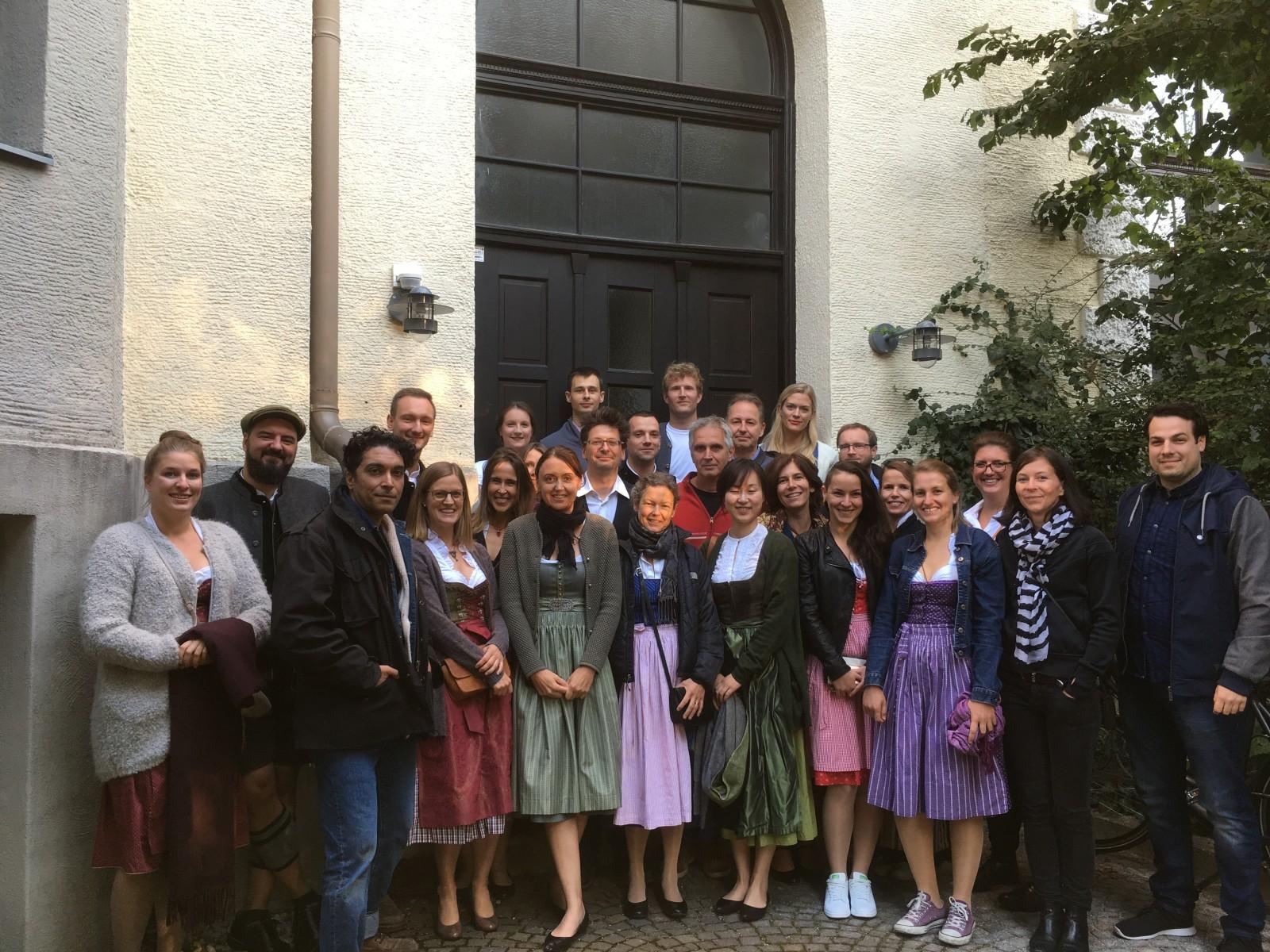 Team karlundp vor Wiesnbesuch 2018