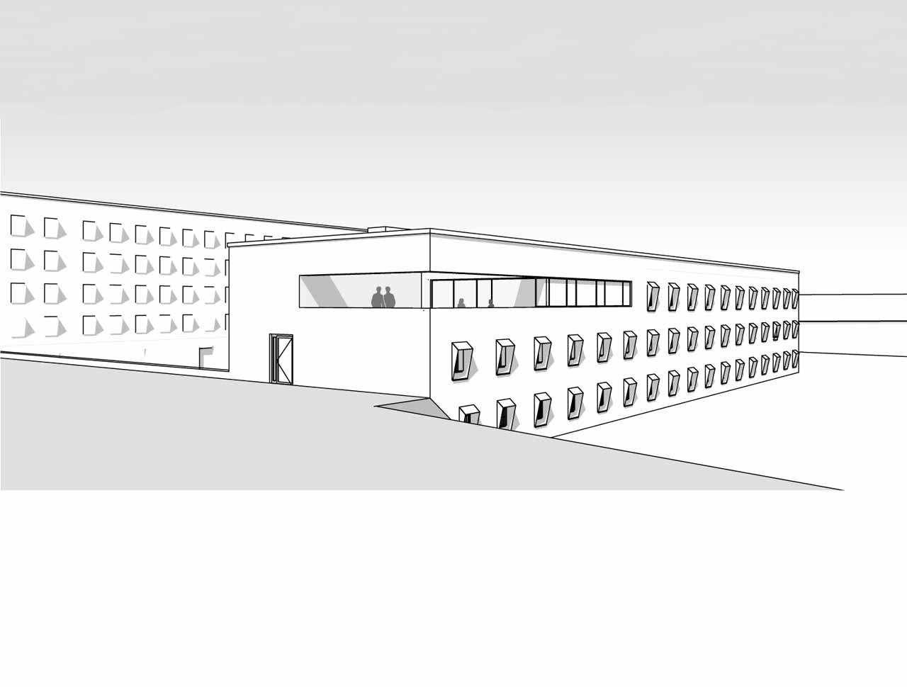 Justizvollzugsanstalt Mannheim, Perspektive Kantine