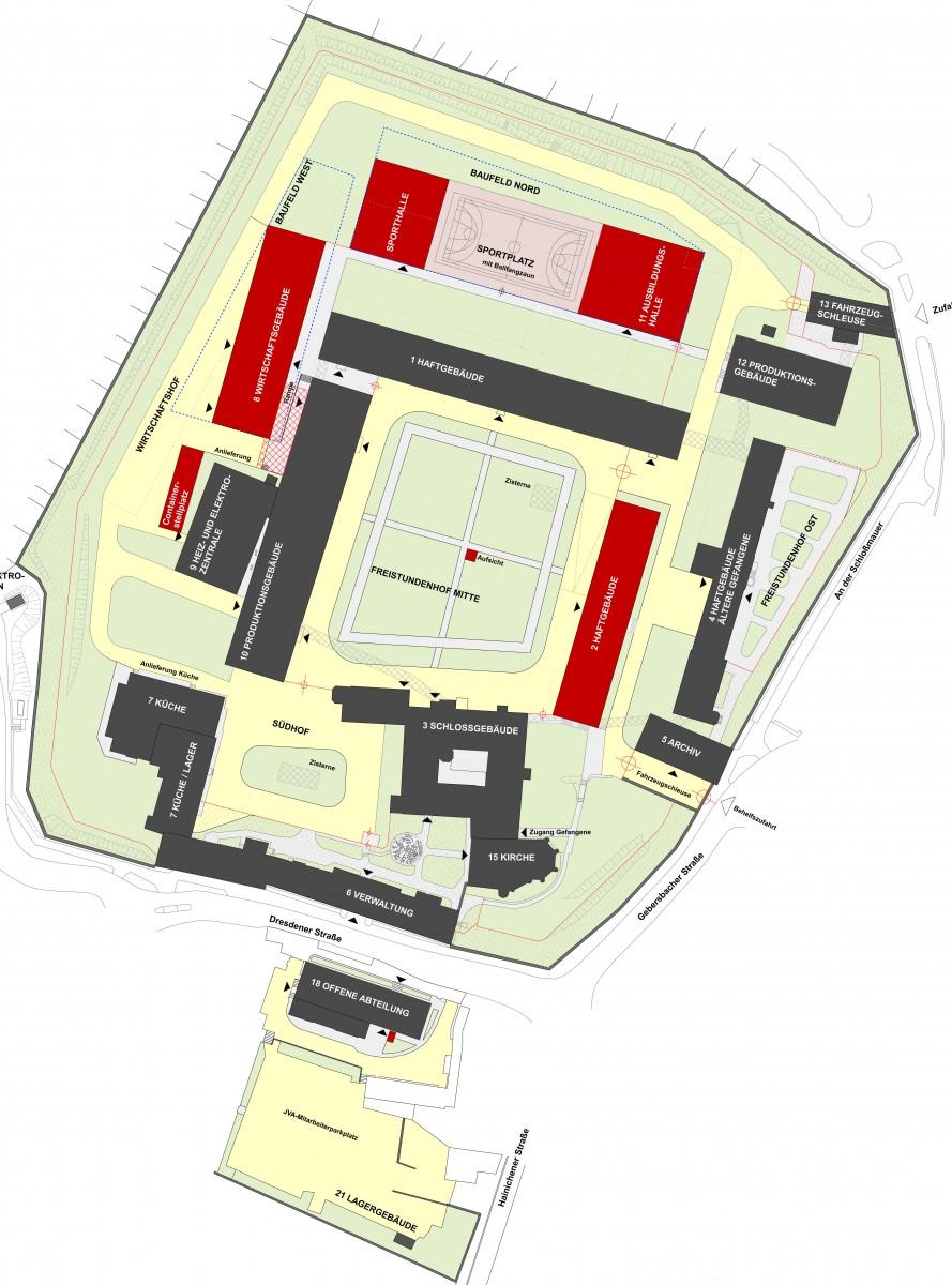 Waldheim, Justizvollzugsanstalt Zielplanung