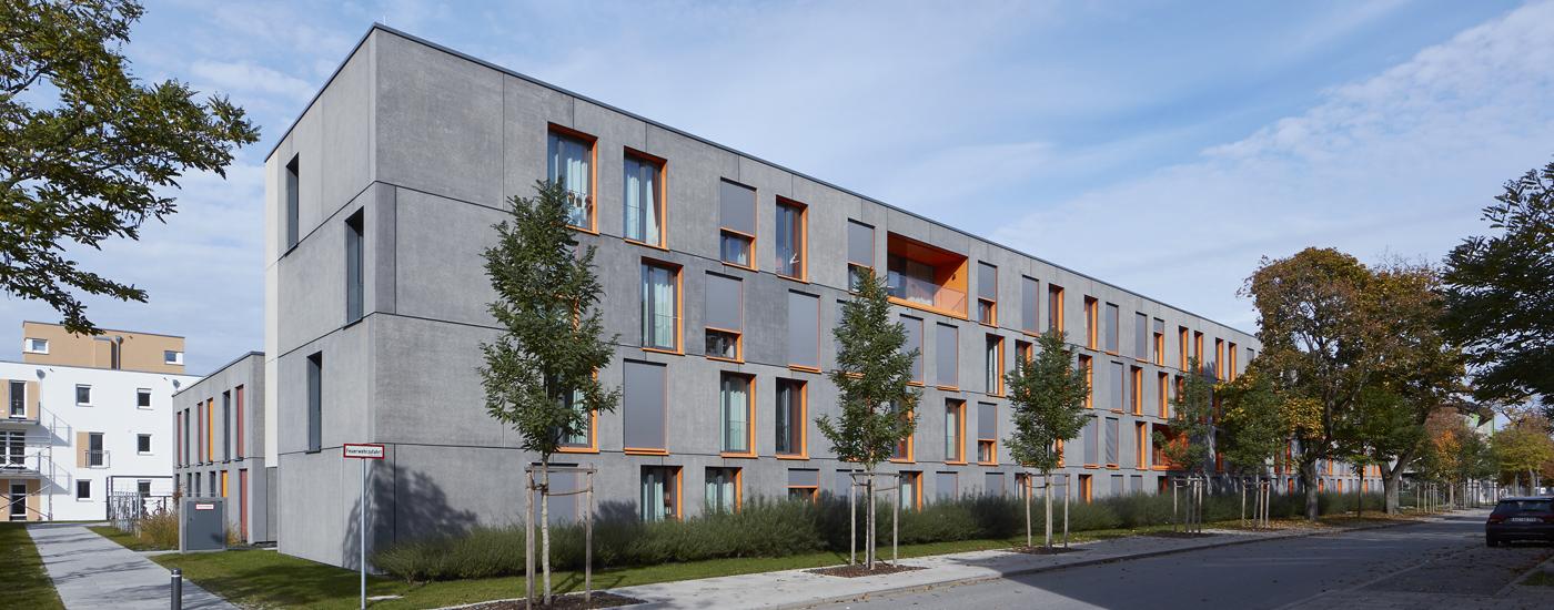 Wohnanlage für Studierende, Landshut
