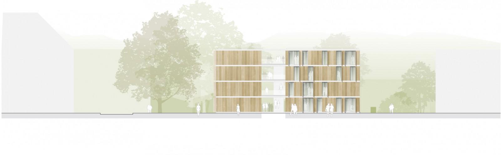 Landshut, Wohnanlage für Studierende