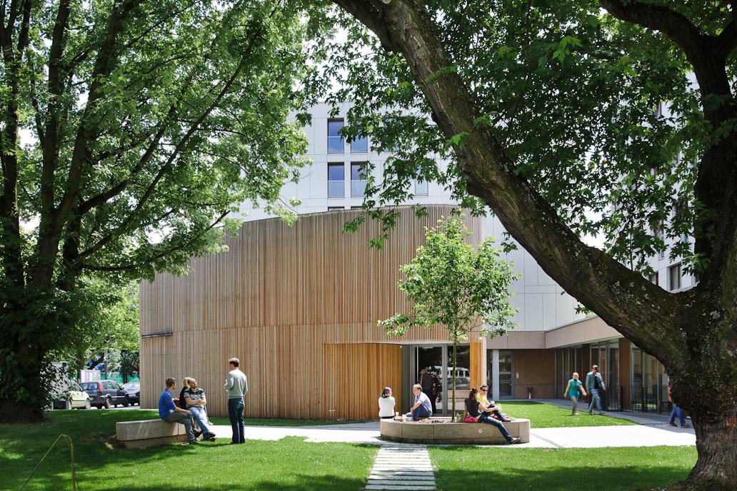 Haus der Stille, Campus Westend, Goethe-Universität, Frankfurt am Main
