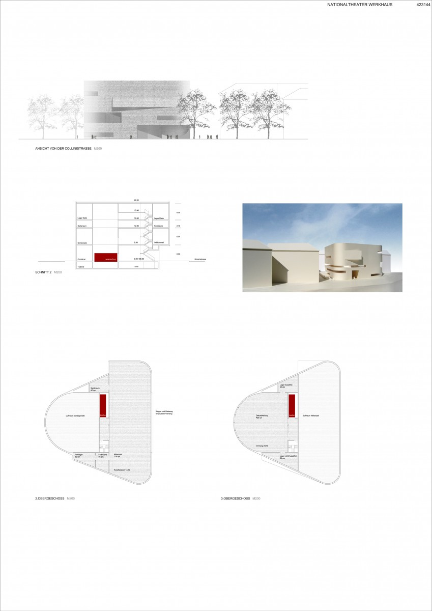 Mannheim, Nationaltheater Werkhaus