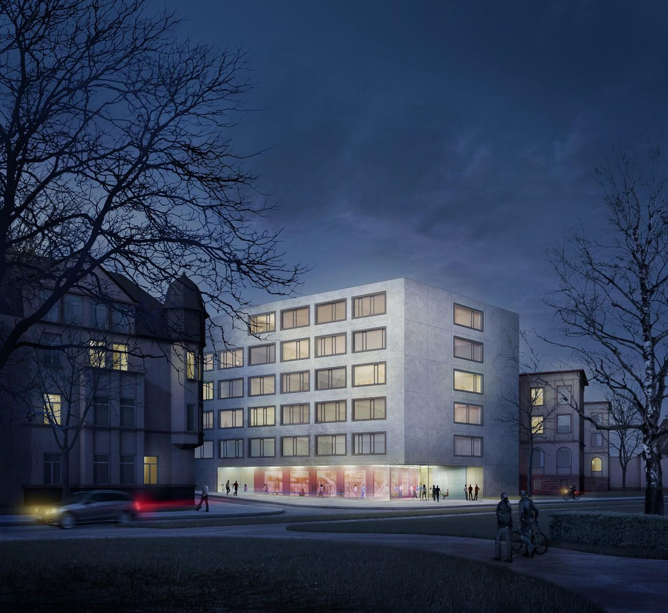 WB Neubau Gebäude 7, FUA, Frankfurt am Main