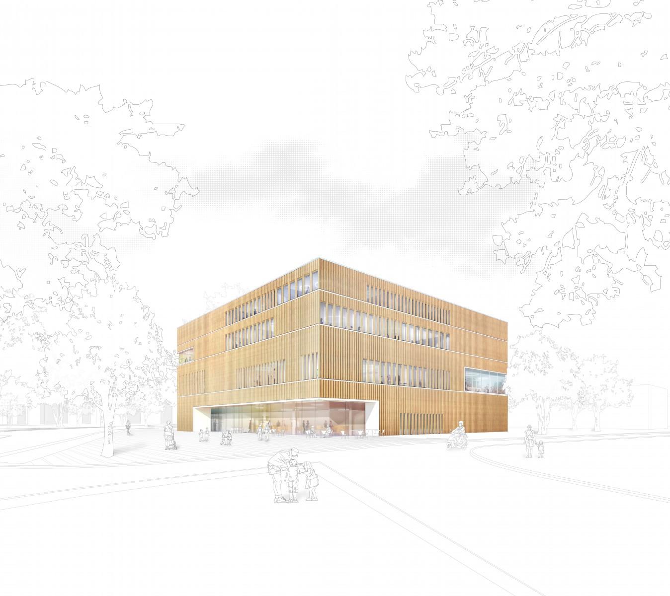 WB Pankow, Bildungs- und Integrationszentrum