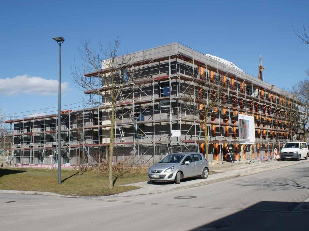 Neubau Wohnanlage für Studierende Landshut