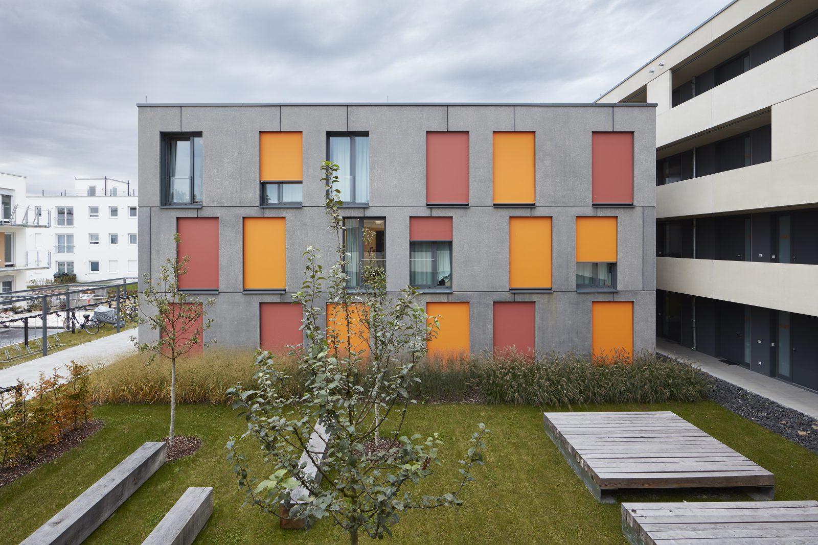 Neubau Studierendenwohnanlage, Landshut