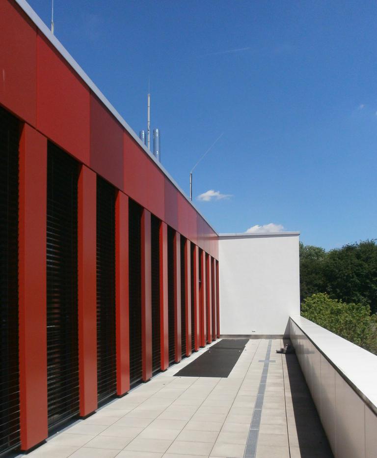 Neubau Versorgungszentrum, Justizvollzugsanstalt Aichach
