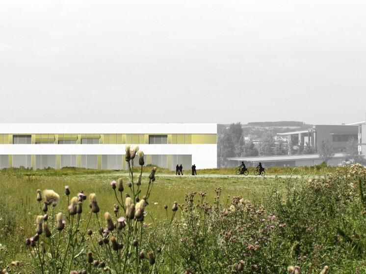 Wettbewerb Neubau Zentrum für Informationssysteme, Hof