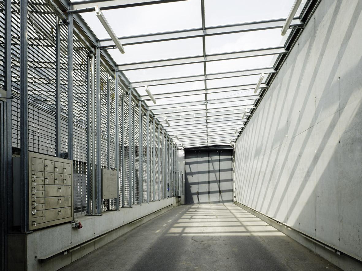 Justizvollzugsanstalt Stuttgart-Stammeheim, Neubau Torwachgebäude