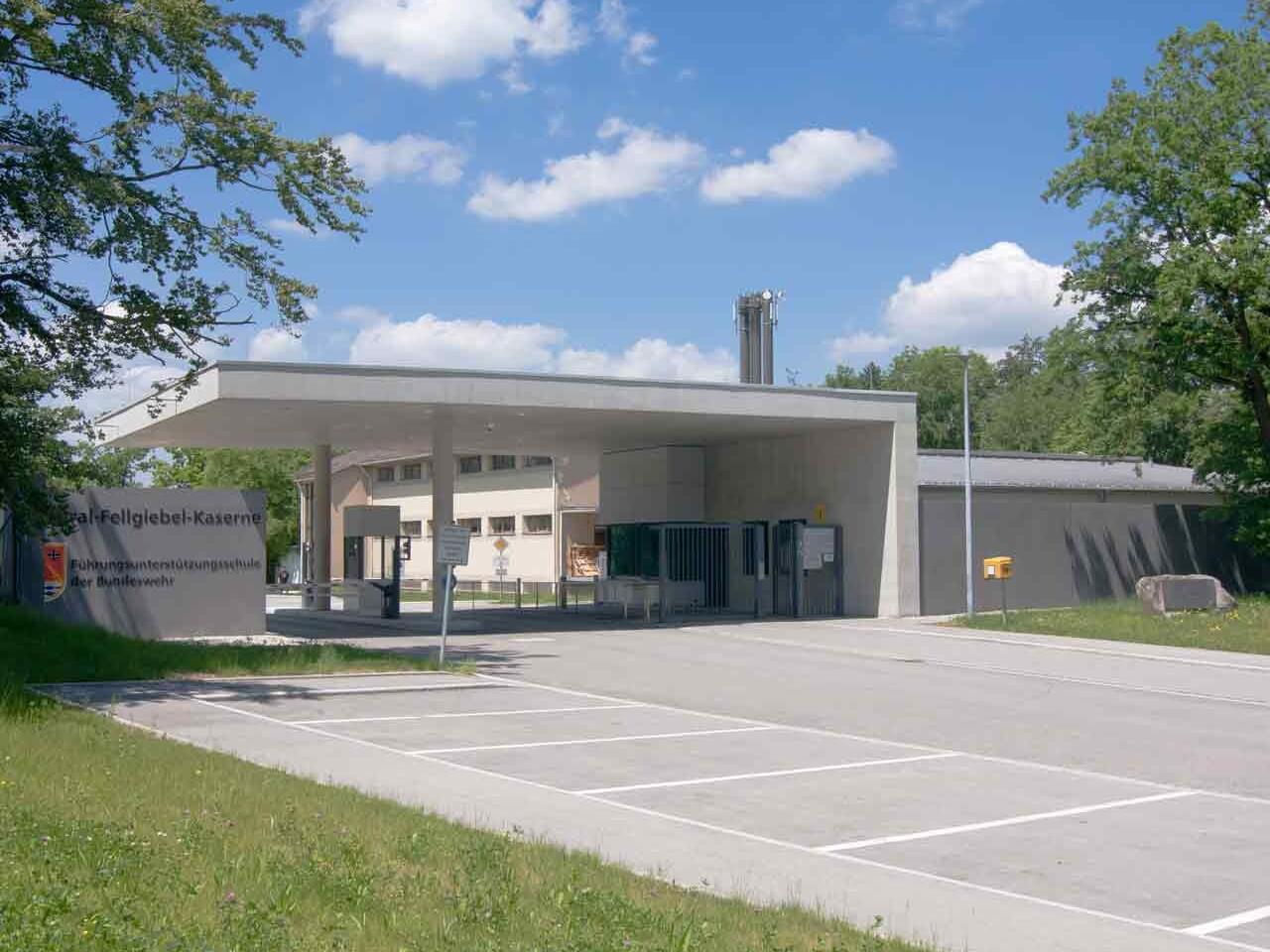 Torwachgebäude General-Fellgiebel-Kaserne, Pöcking
