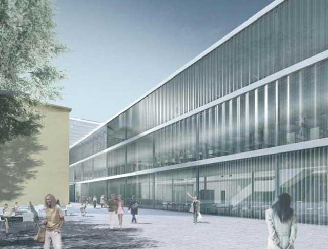 Wettbewerb Bibliothekenzentrum, Bozen, Italien